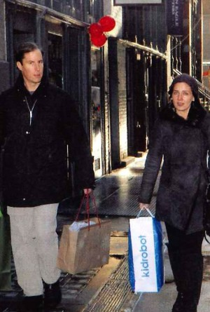 Andrew Madoff and his fiancée spending your money on Kidrobot.