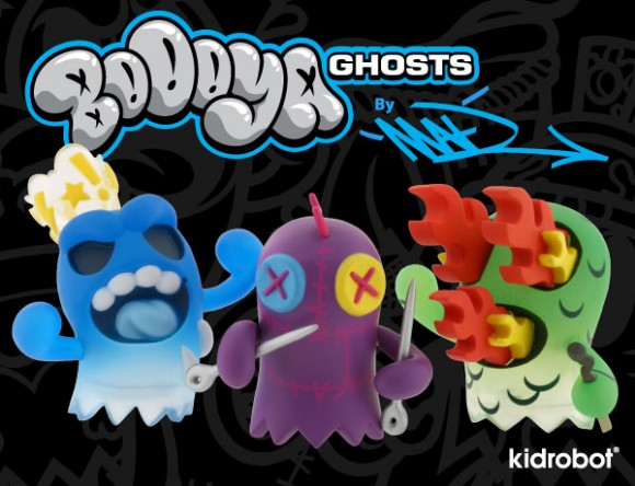 Kidrobot BoOoya Ghost Mini Series