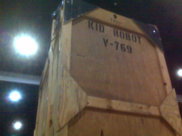 Kidrobot's Crates at San Diego Comic-Con