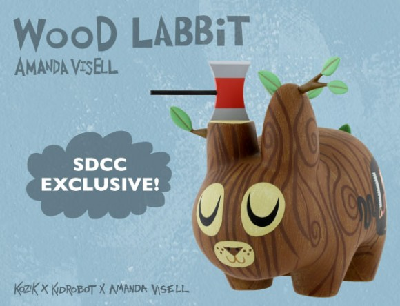 Amanda Visell Wood Labbit