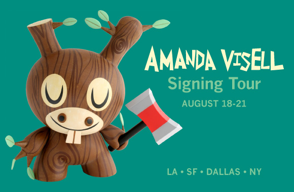 Amanda Visell Signing Tour