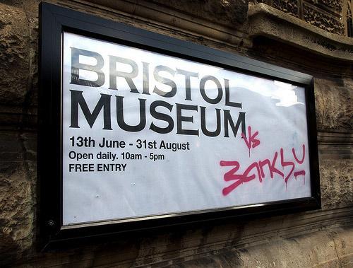 Banksy takes Bristol