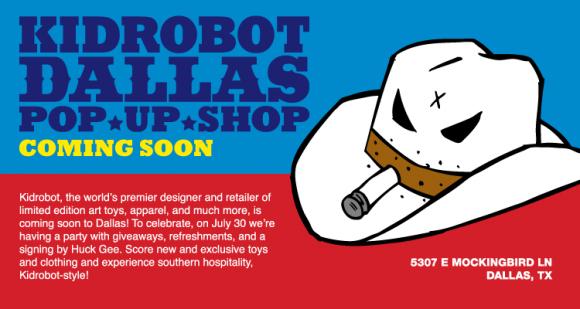 Kidrobot Dallas Coming Soon!