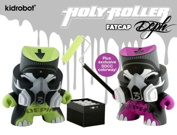 SDCC - Deph x Kidrobot FatCap