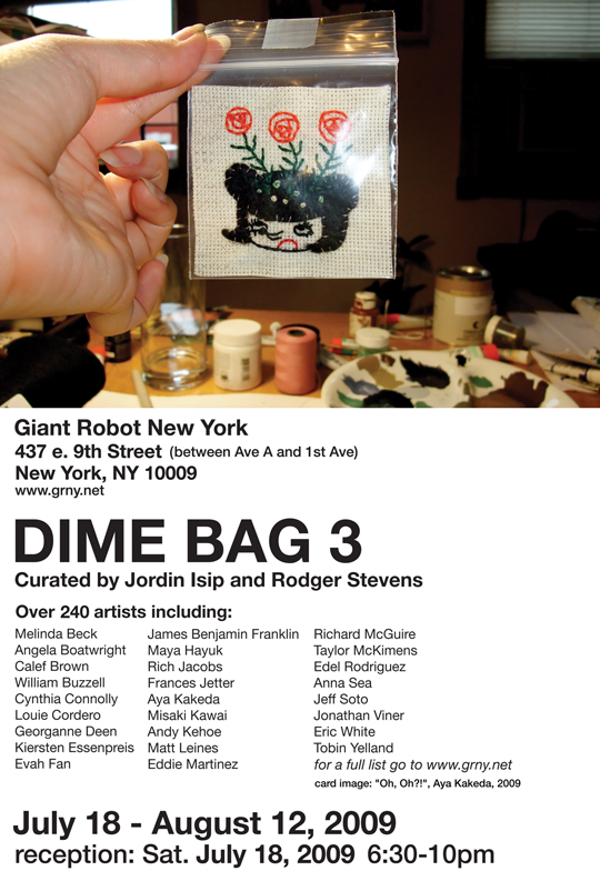 Dime Bag 3 at Giant Robot