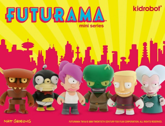 Kidrobot x Futurama at SDCC