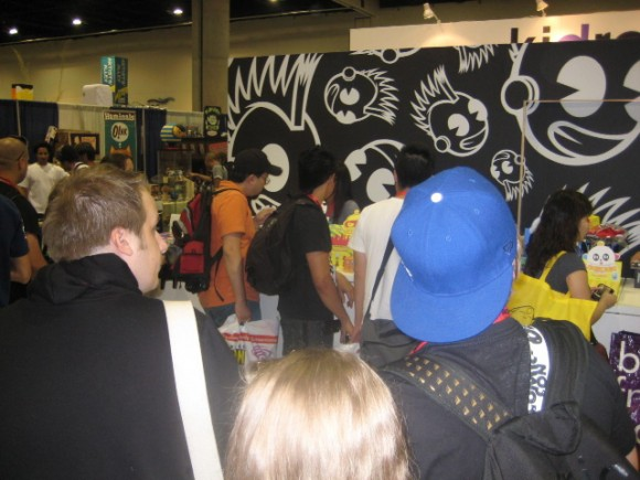 Kidrobot at San Diego Comic-Con, booth #4529