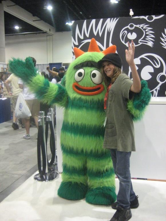 Brobee Visits Kidrobot At Comic Con Kidrobot Blog