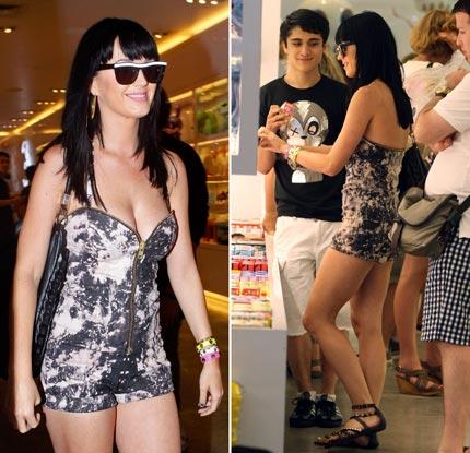 Katy Perry in Kidrobot NY