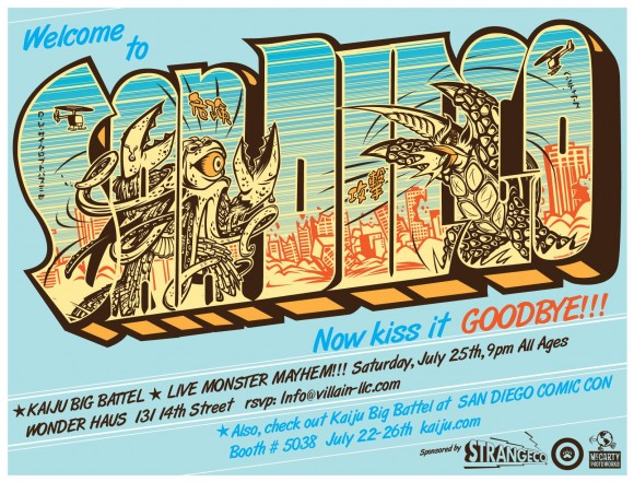 Kaiju Big Battel in San Diego