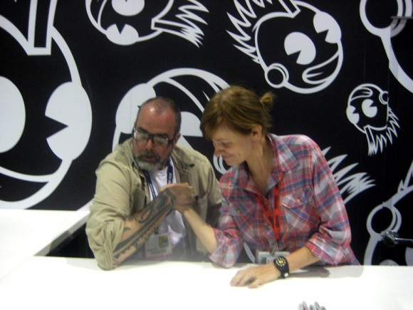 Frank Kozik and Amanda Visell