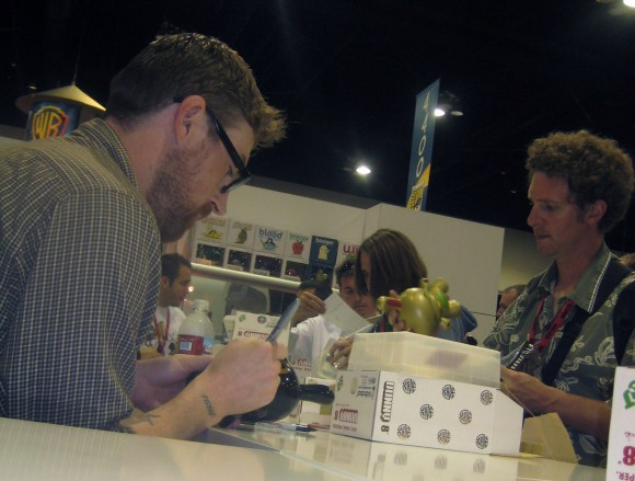 Kidrobot x MR. Shane Jessup at SDCC 2009