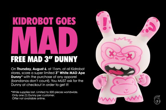 Kidrobot Goes MAD