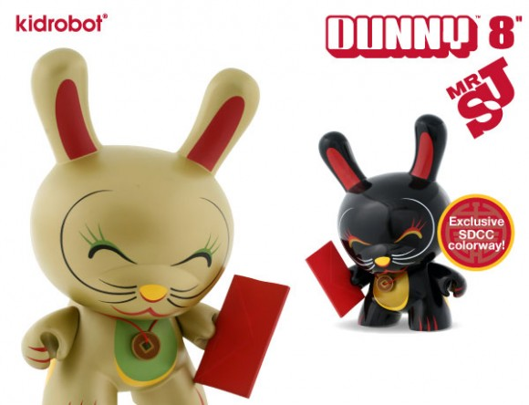 MR Shane Jessup x Kidrobot - SDCC Dunny Exclusive!