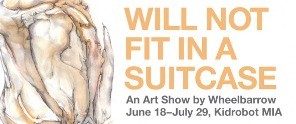 Will Not Fit in a Suitcase - Kidrobot Miami gallery show