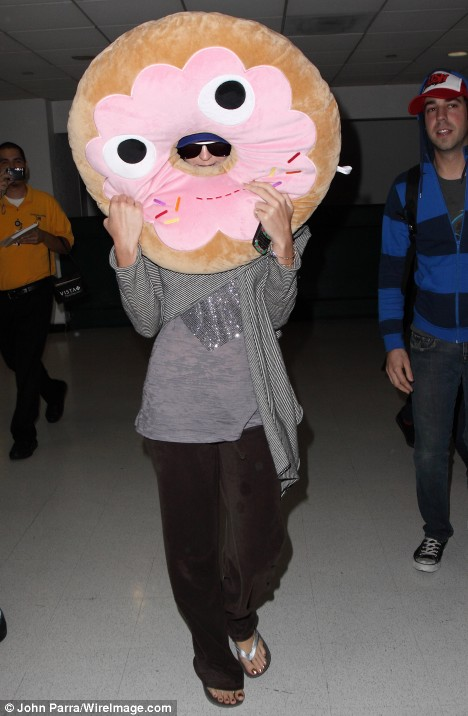Katy Perry in Yummy Donut