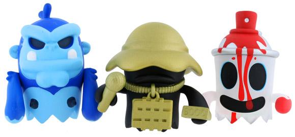 Kidrobot MAD BoOoya Minis