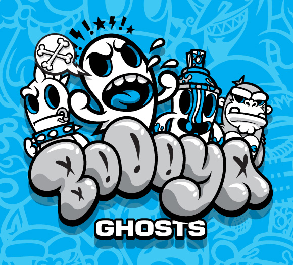 MAD's BoOoya Ghosts mini series from Kidrobot