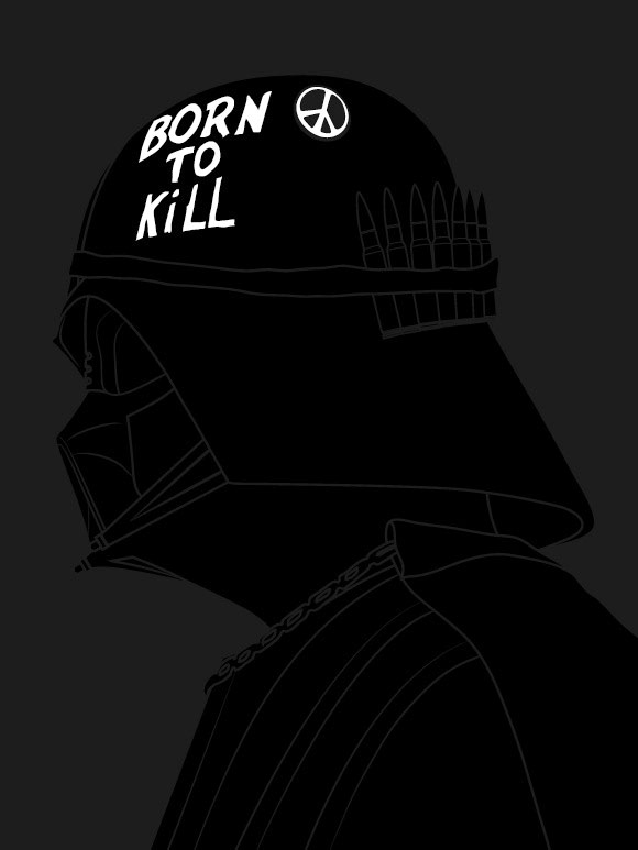 vader born to kill kidrobot blog