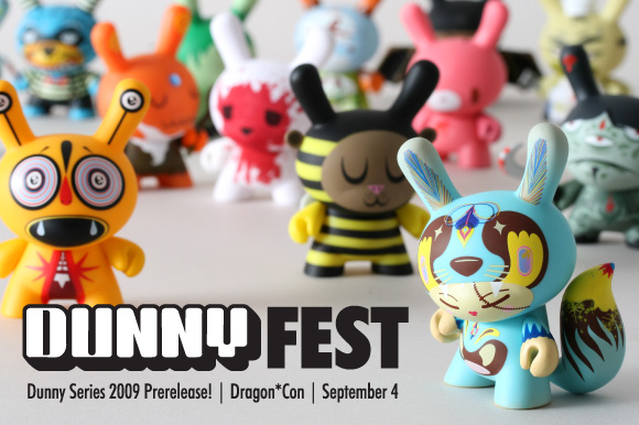 Dunny Fest 2009 at Dragon*Con