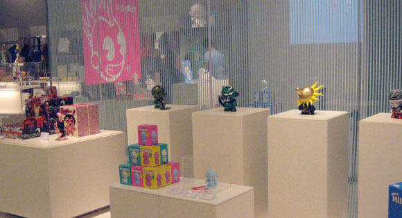 Kidrobot in the Tokyo MoMA Design Store