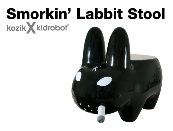 Labbit Stool in Black