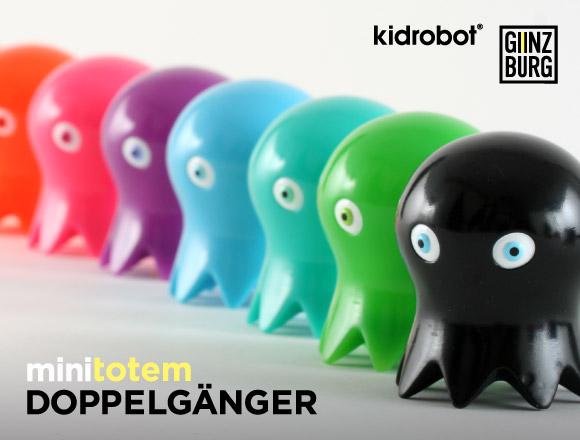 Anton Ginzburg miniTotem Doppelganger Series by Kidrobot