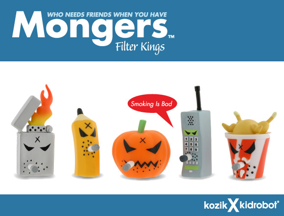 Frank Kozik Mongers Filter Kings by Kidrobot