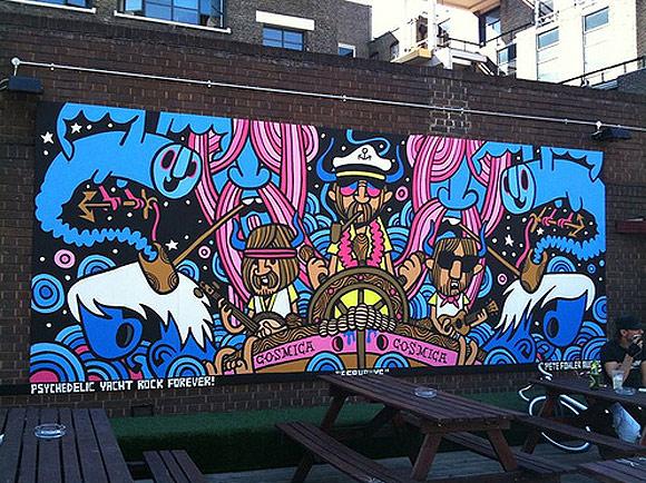 Pete Fowler mural