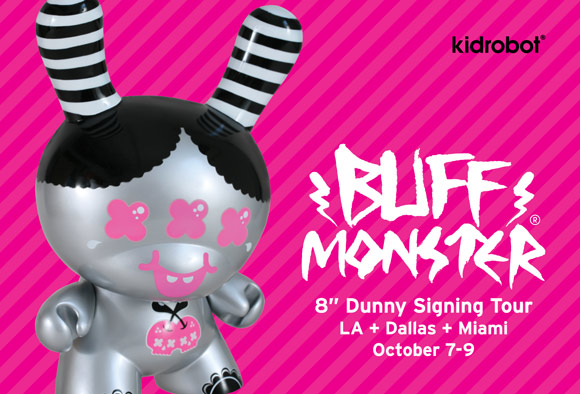 Kidrobot Buff Monster Signing Tour
