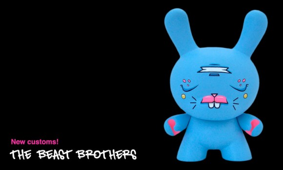 The Beast Brothers art on sale at kidrobot.com