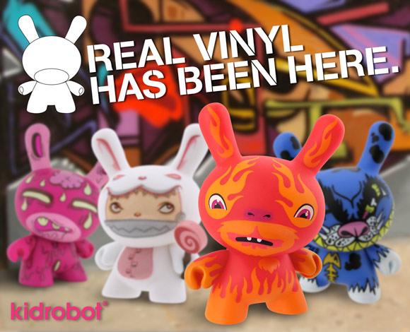 Kidrobot Real Vinyl