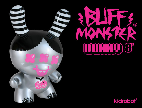 Buff Monster 8-Inch Dunny by Kidrobot