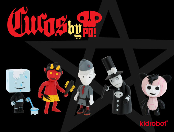Cucos Mini Series by Patricio Oliver for Kidrobot