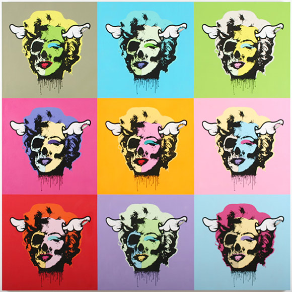 D*Face at the Jonathan Levine Gallery