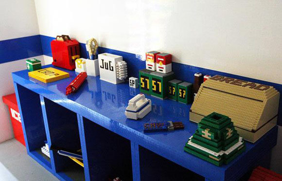 Lego House Kitchen