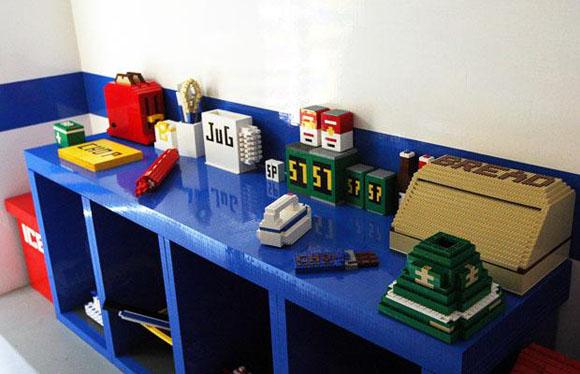 Lego House Kitchen