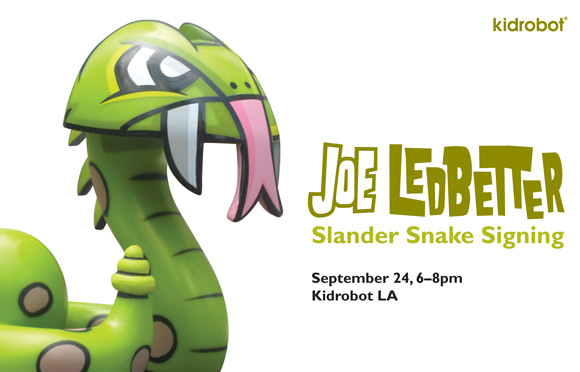 Slanders Joe Ledbetter Signing