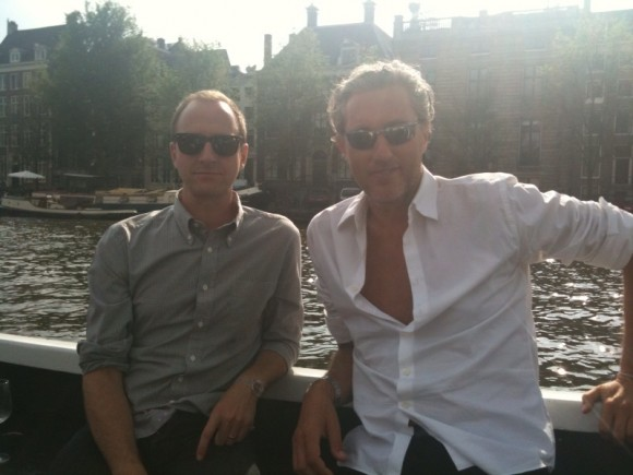 Paul Budnitz and Marcel Wanders in Amsterdam