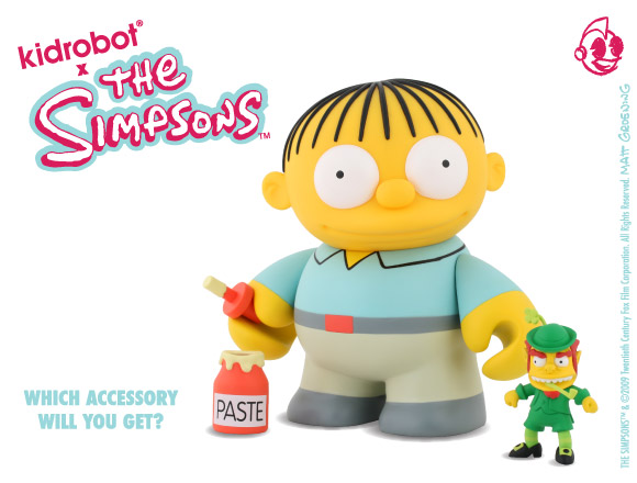 The Simpsons Ralph Wiggums from Kidrobot
