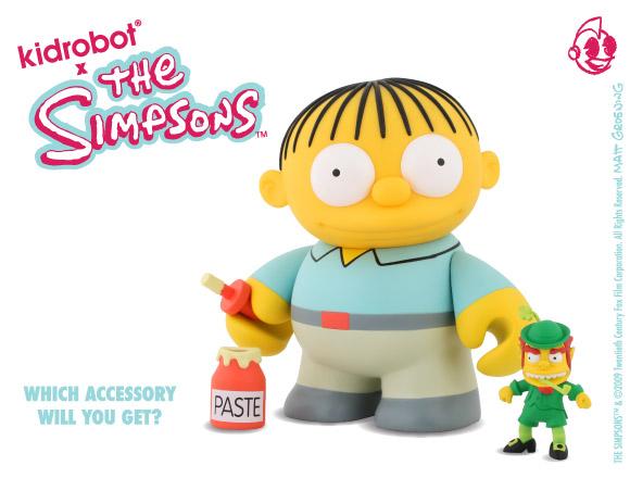 The Simpsons Ralph Wiggums from Kidrobot