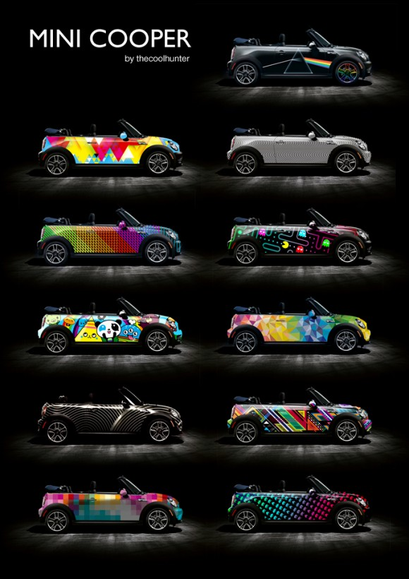 The Cool Hunting wraps Mini in TADO