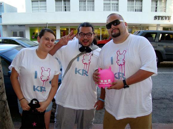 Buff Monster Signing at Kidrobot Miami