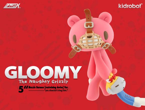 Muzzle Harness Gloomy Bear 5-inch