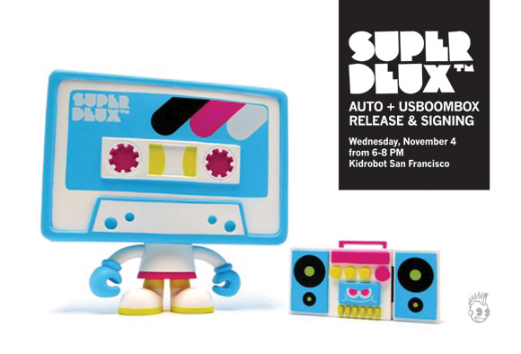 Superdeux at Kidrobot San Francisco