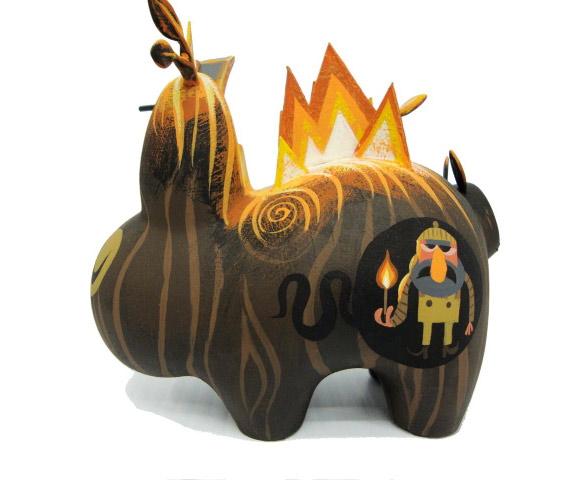 Amanda Visell's Burning Wood Labbit