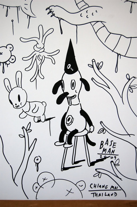 Gary Baseman for Cultural Canvas Thailand