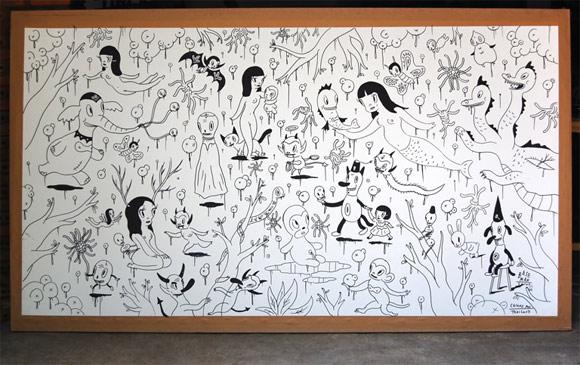 Gary Baseman for Cultural Canvas Thailand