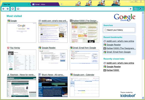 Kidrobot x Google Chrome