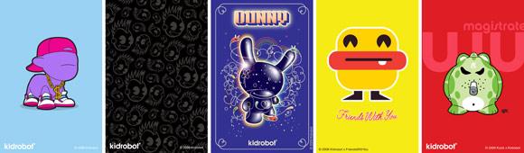 Kidrobot iPhone Screens